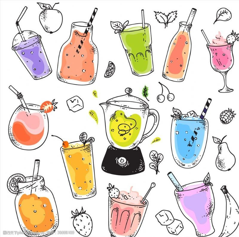 果汁素材饮料