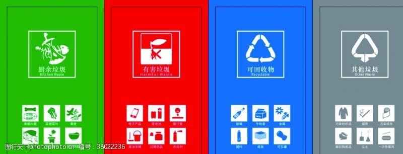 展板模板垃圾分类