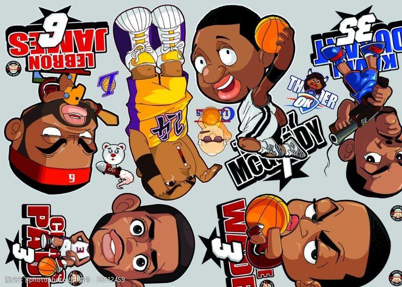 足球设计NBA球星