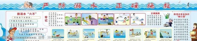 小学生安全防溺水宣传栏