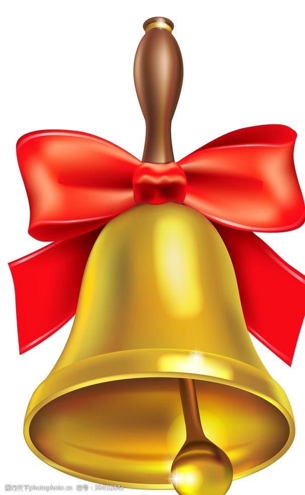 金色铃铛卡通铃铛