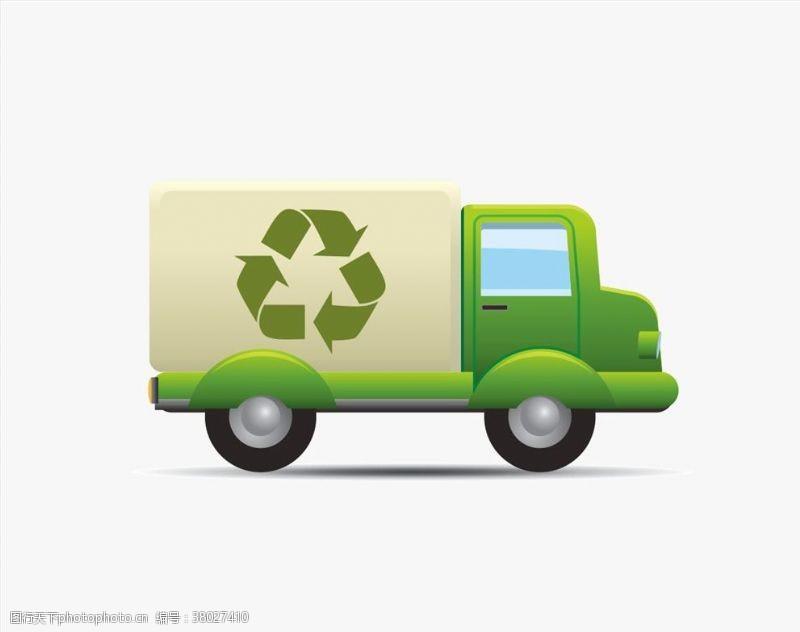 环卫车矢量回收车