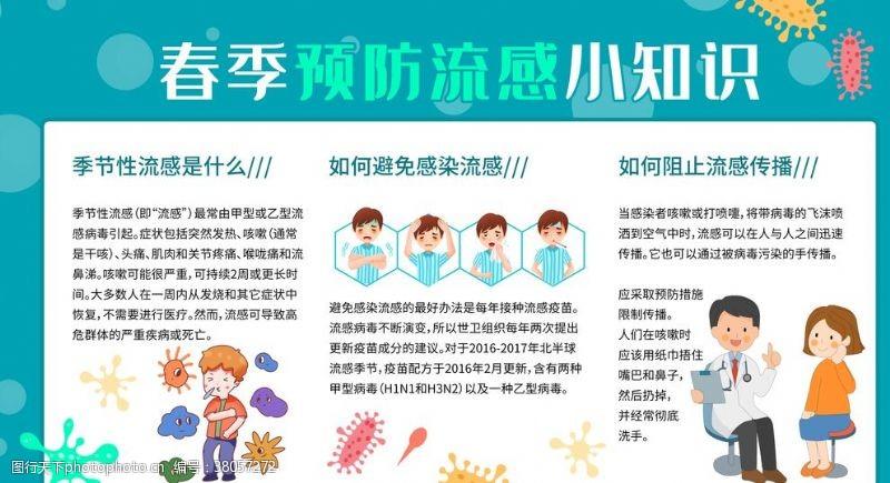 流感常识预防流感小知识