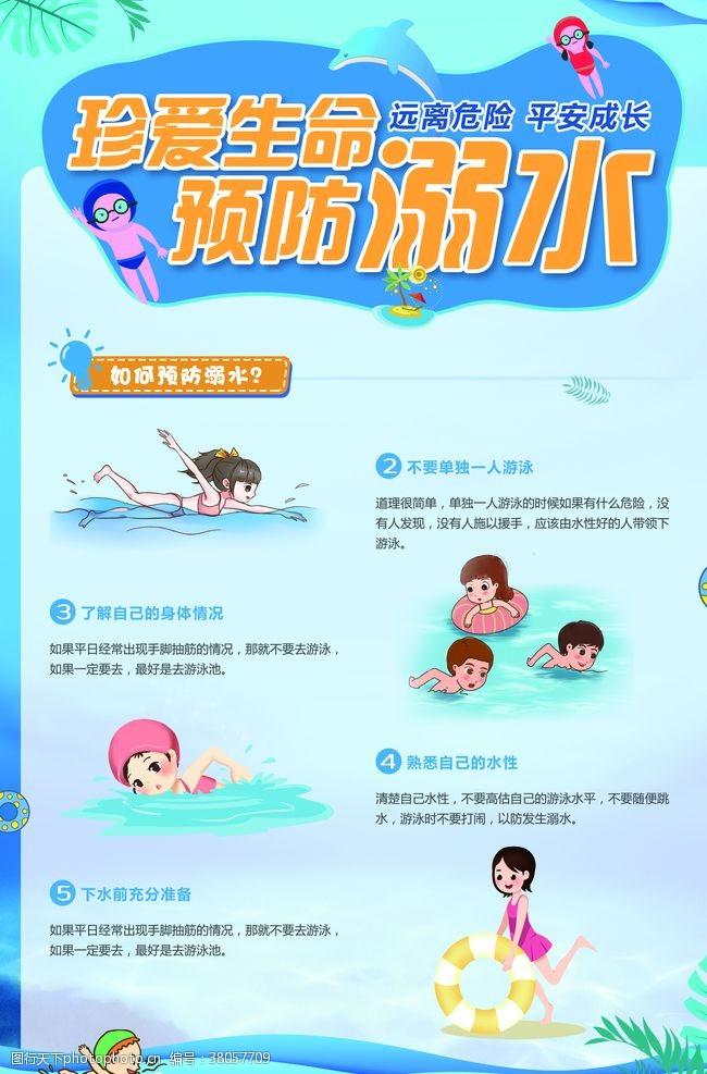 小学生安全预防溺水安全教育