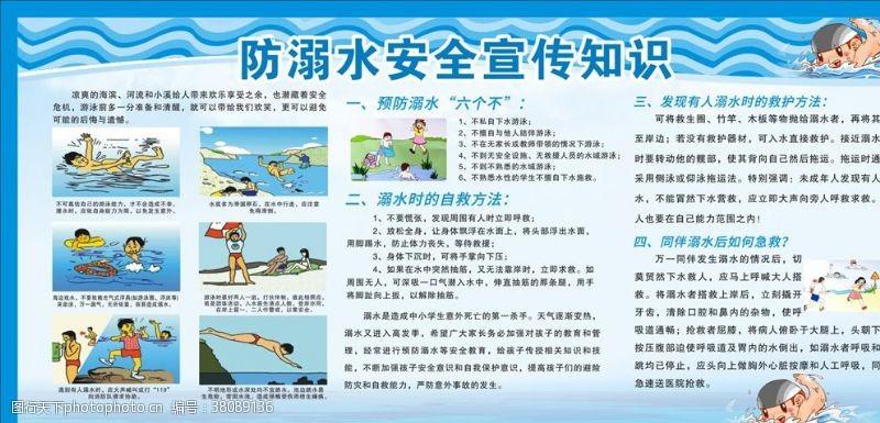 小学生安全防溺水安全知识