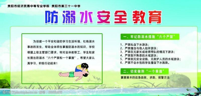 小学生安全防溺水安全教育