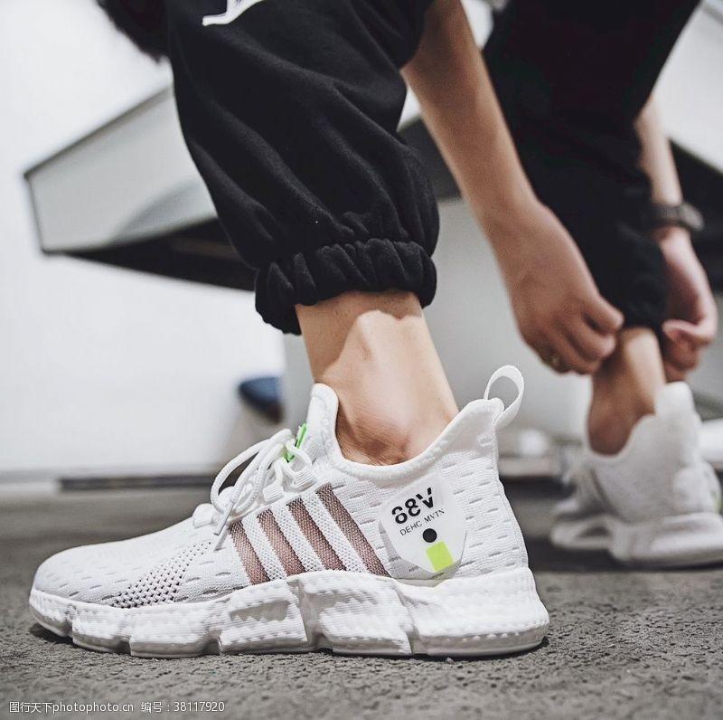 男款鞋子男运动鞋