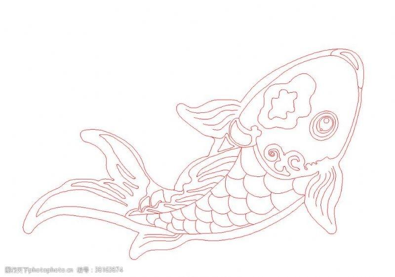cad素材鱼