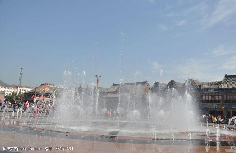 喷泉景观广场喷泉