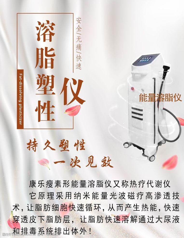 美容医院展板宣传海报