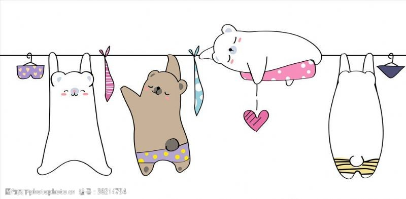 肥猫卡通动物