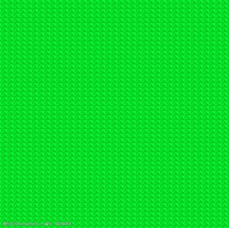 绿色花纹绿色背景