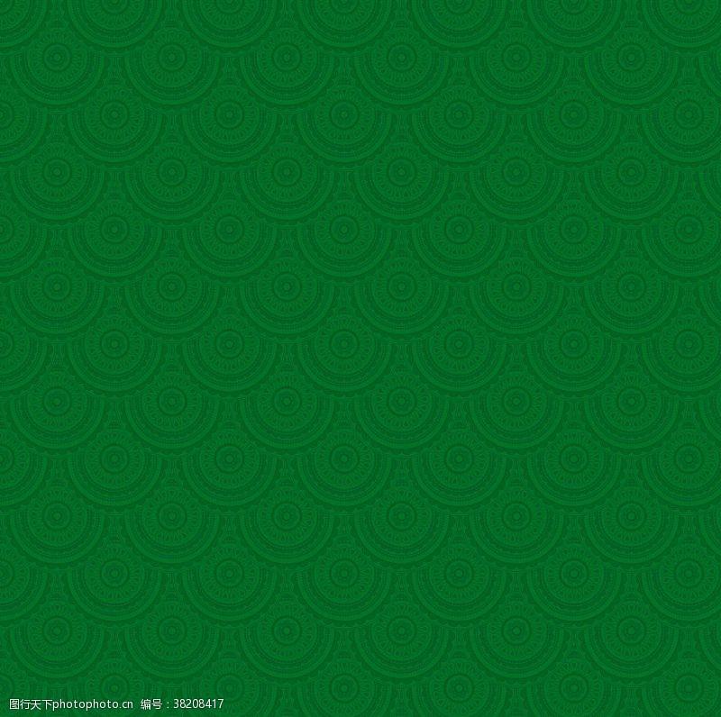 绿色花纹绿色底纹