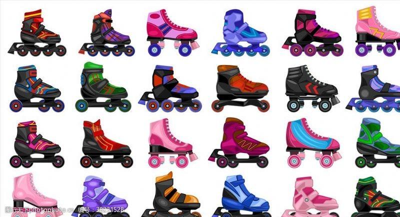 溜冰场轮滑海报