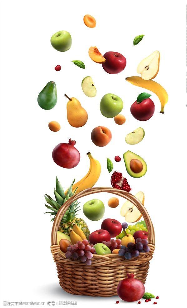 超市水果背景水果背景
