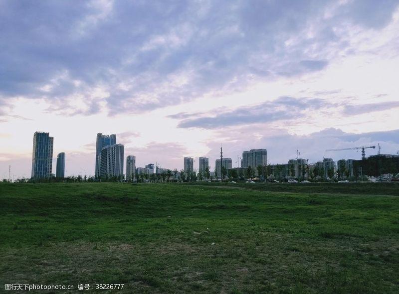 高楼大厦城市景观
