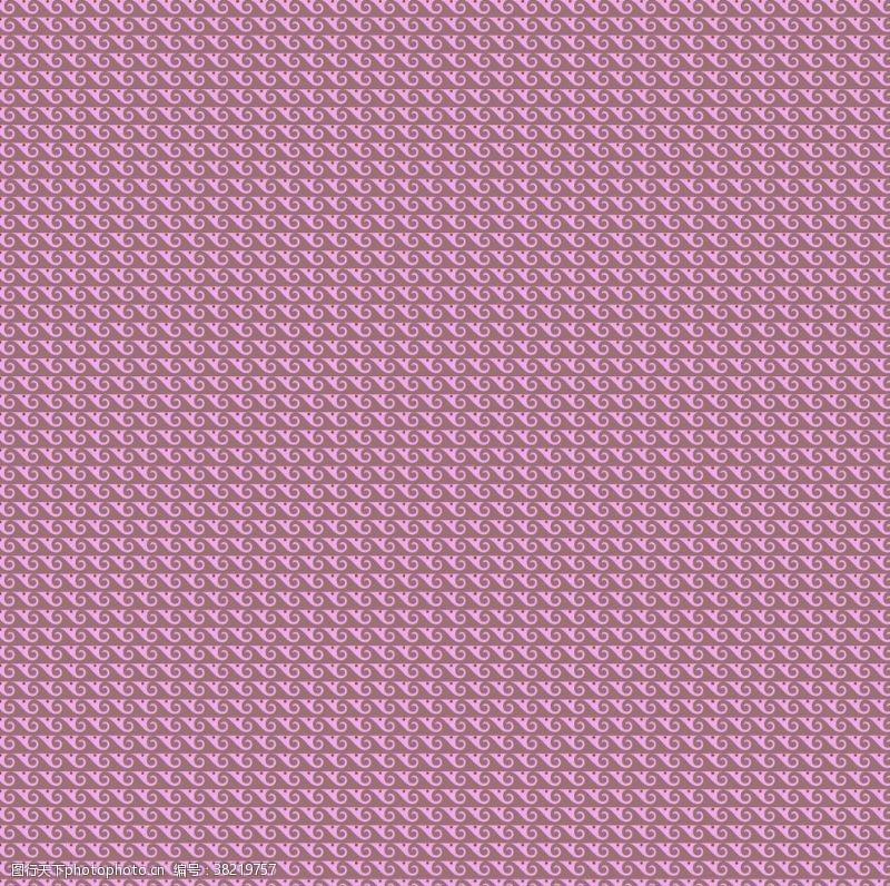 紫色花纹复古底纹