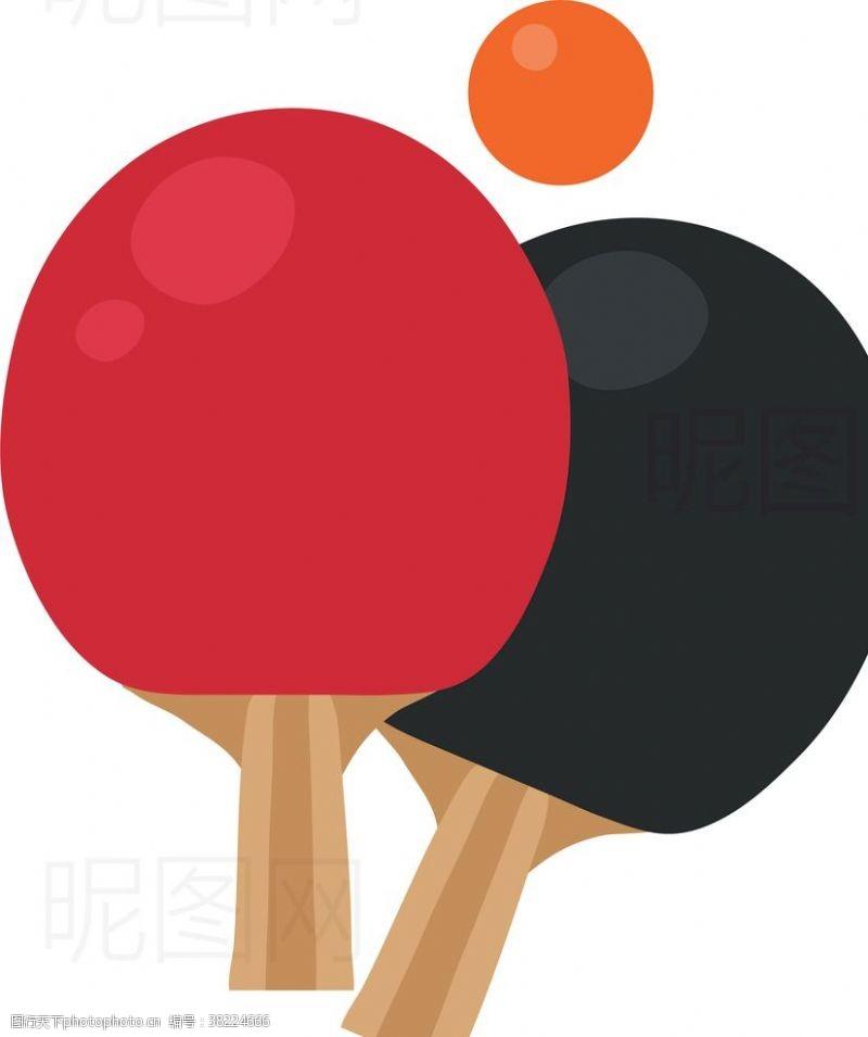 排球设计乒乓球