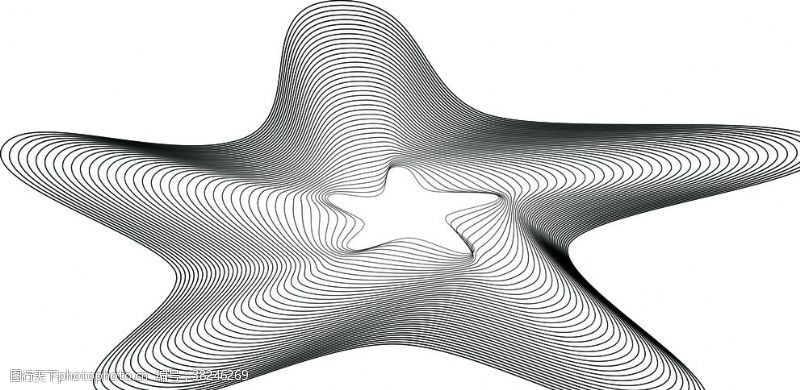 多边形设计线条