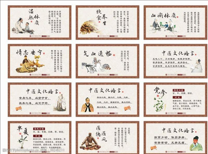 中医药文化中医展板