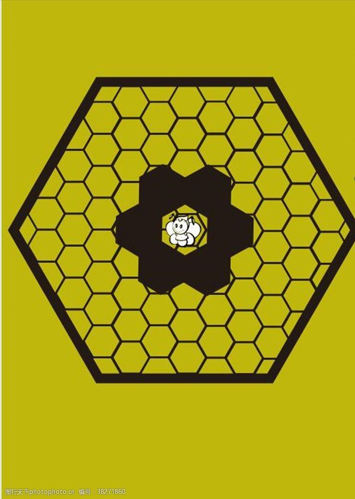 多边形设计蜂巢