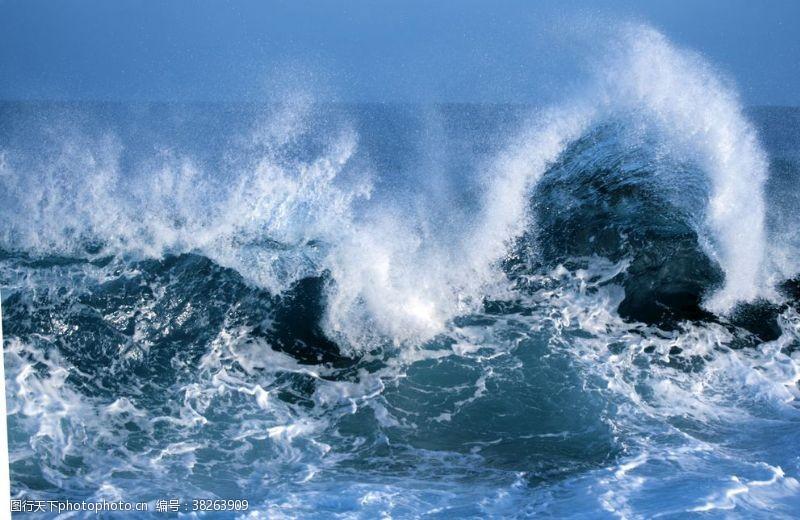 海浪背景海浪