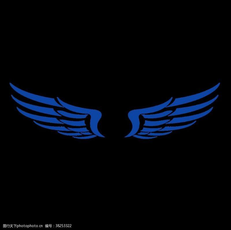 演出舞台背景翅膀素材