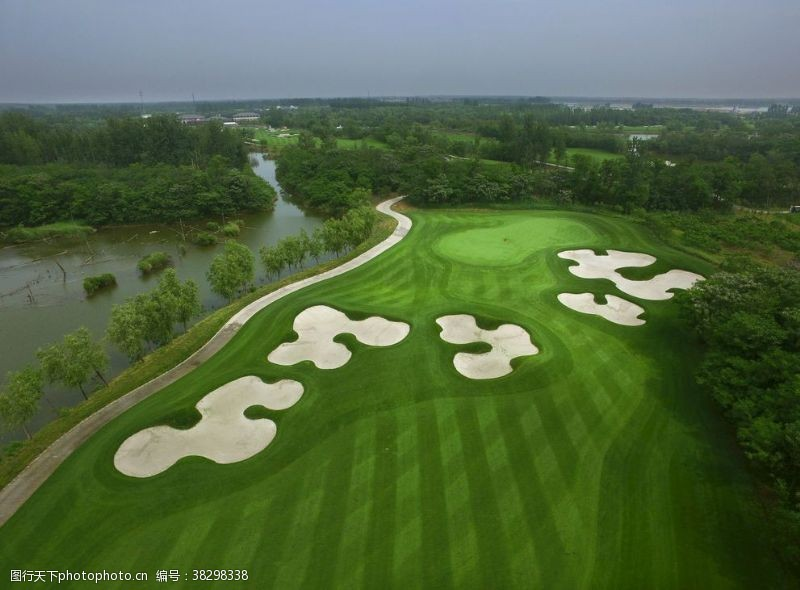 高尔夫球道