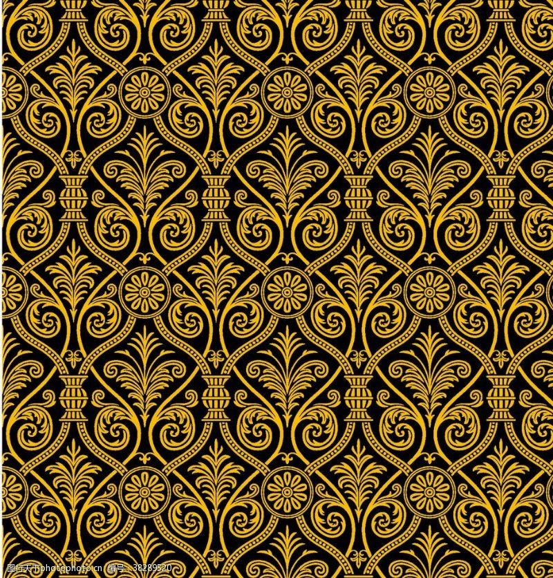 抽象背景矢量古罗马复古背景花纹