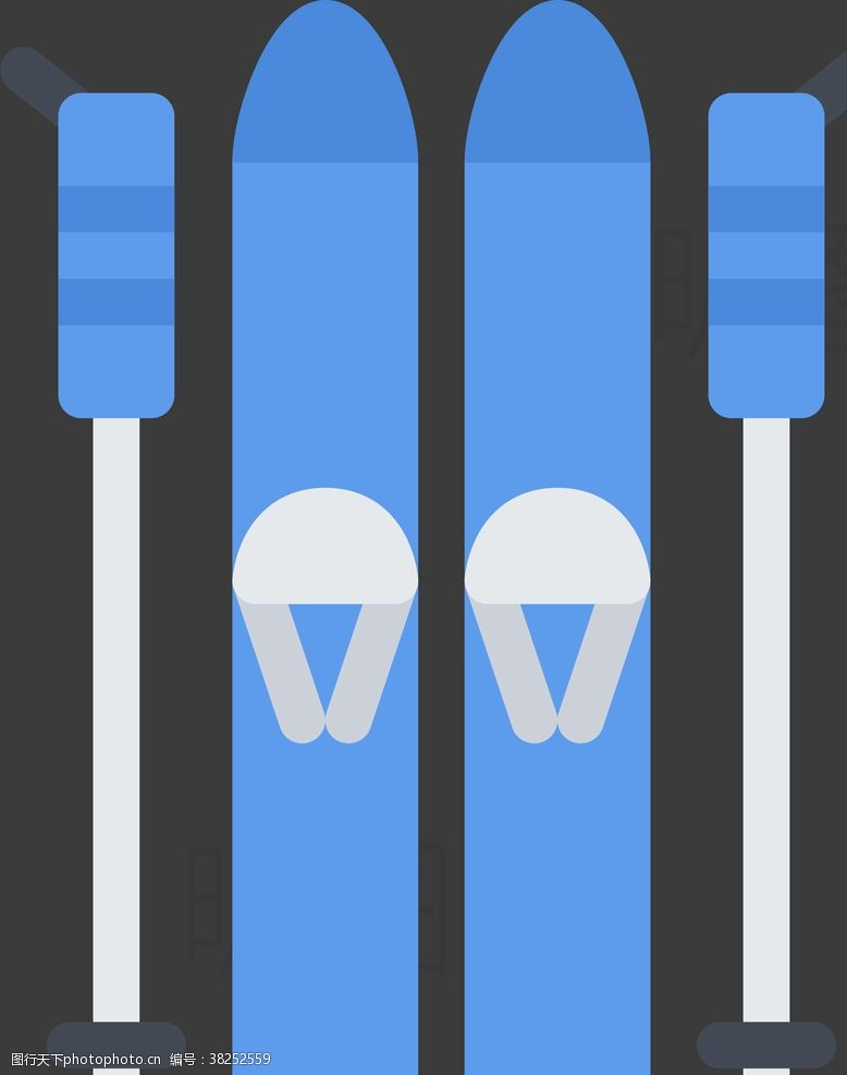 击剑运动滑雪