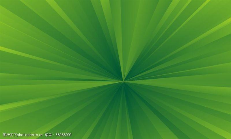 绿背景矢量绿色放射线爆炸背景