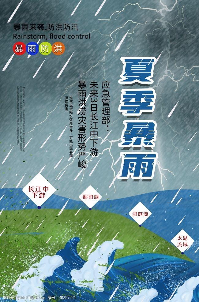 預防指南夏季暴雨