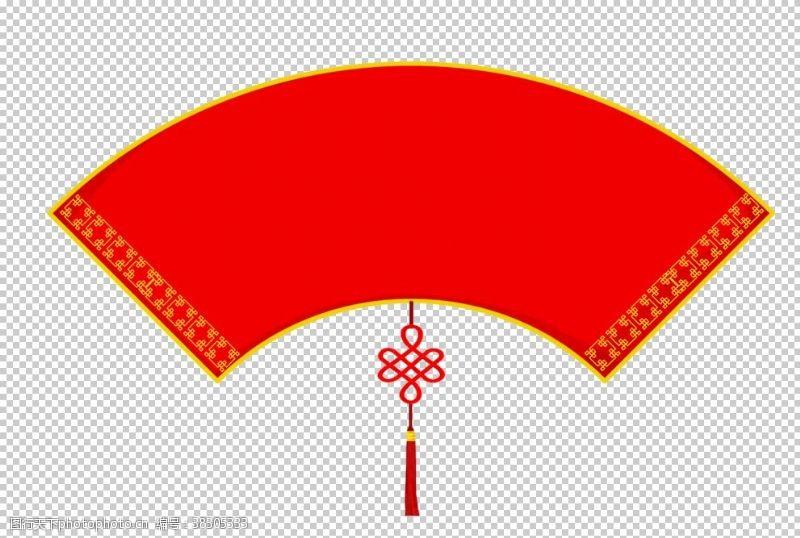 背景花边中国风花纹