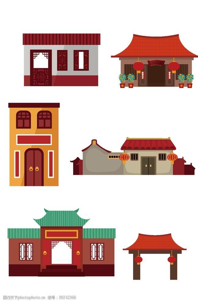 草图大师中式建筑模型