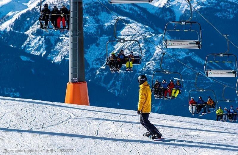 滑雪运动 滑雪图片