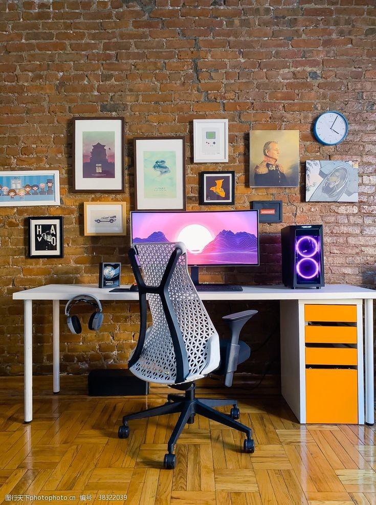 电脑房书房