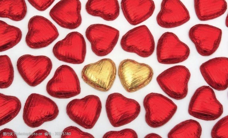 传统爱心巧克力