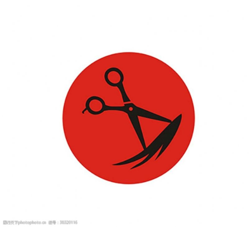 理发店设计理发店logo