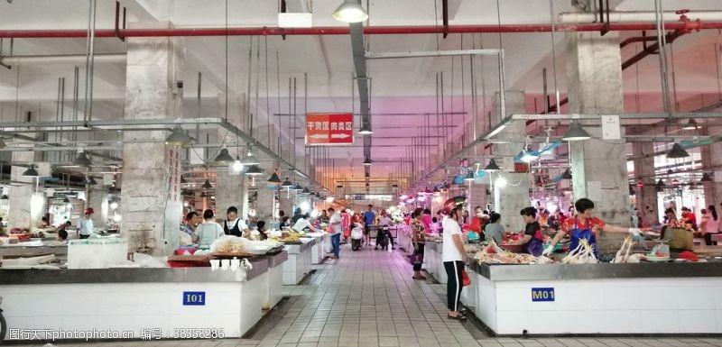 生活素材农贸市场风采