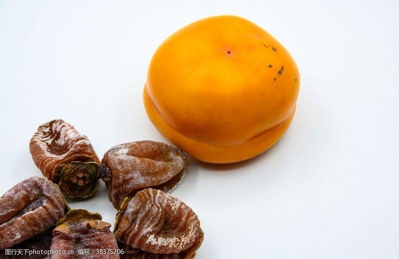 传统柿子柿饼
