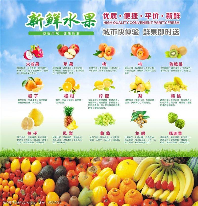 水果店海报广告