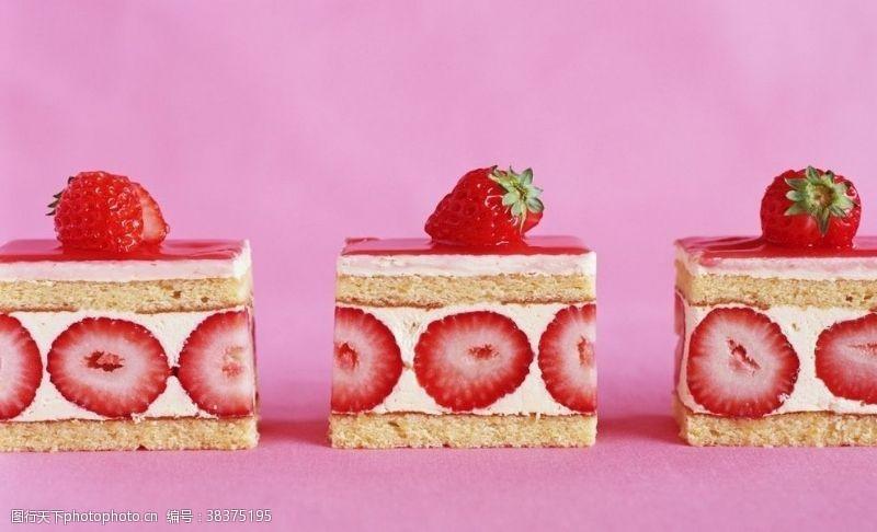传统草莓蛋糕