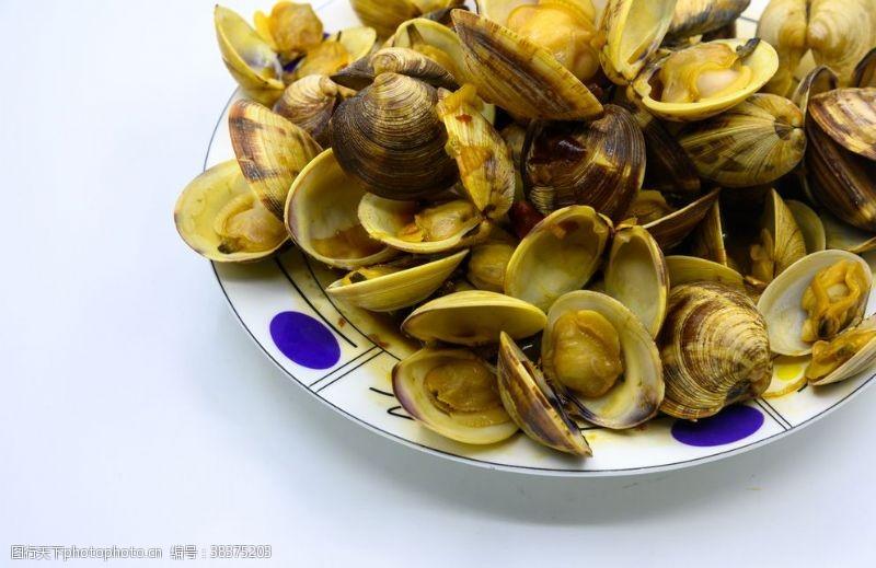 传统炒蛤蜊