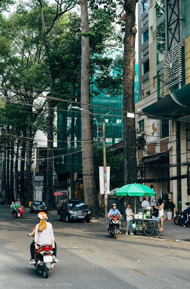 生活素材街头街道