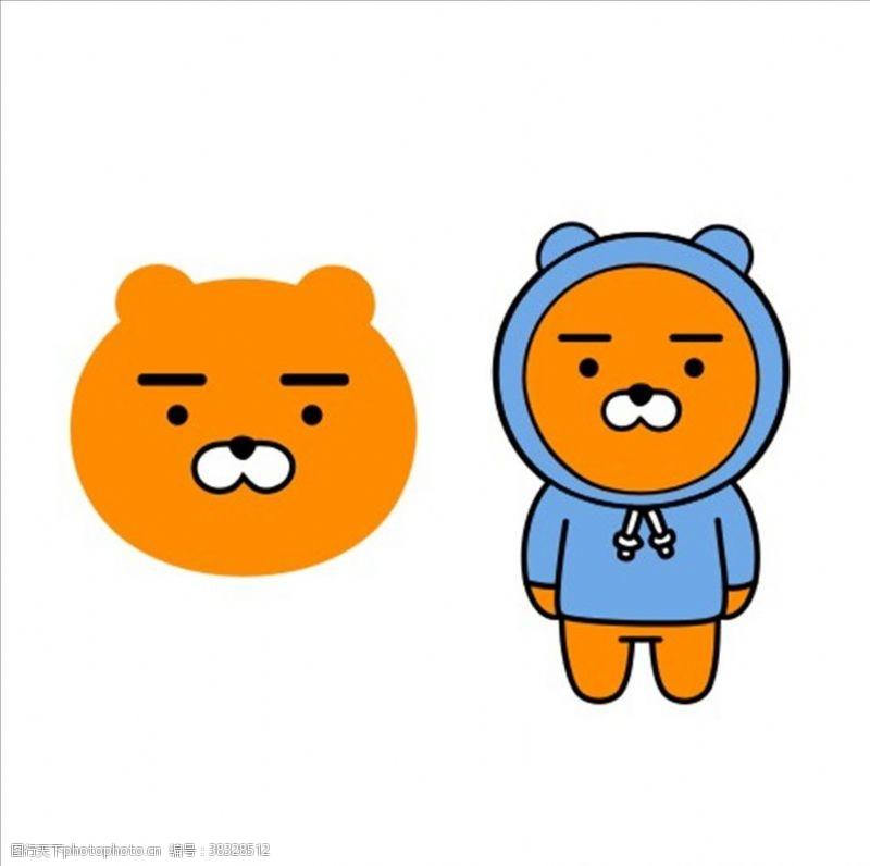 韩国卡通Kakao小黄熊