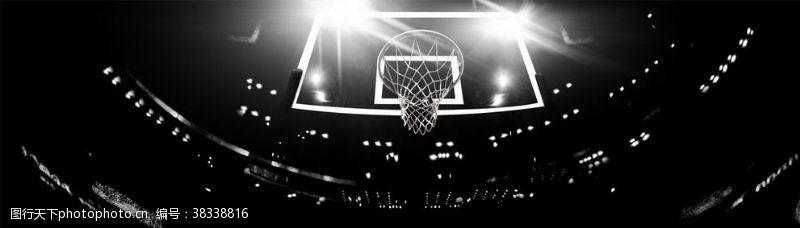 篮球框比赛运动背景海报素材