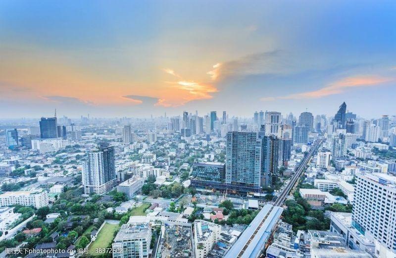 建筑现代都市