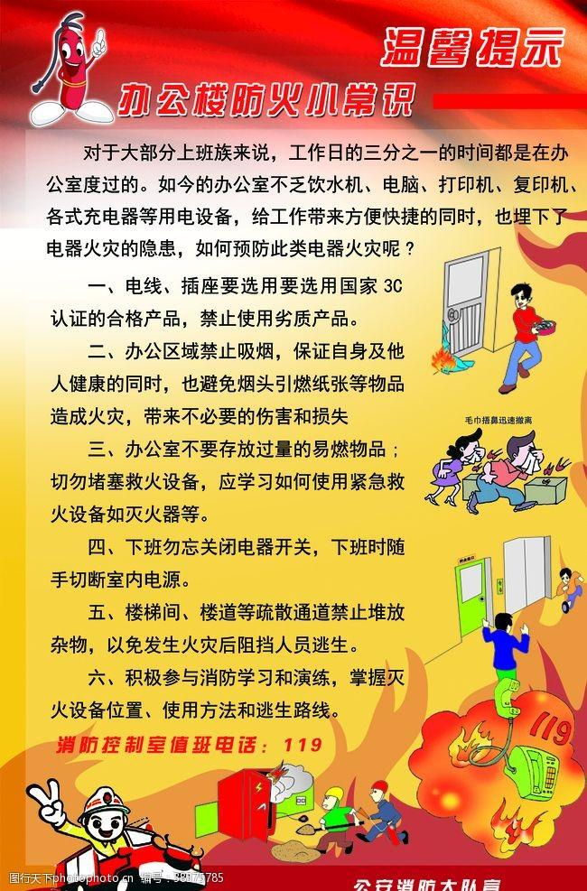 校园文化消火栓消防知识