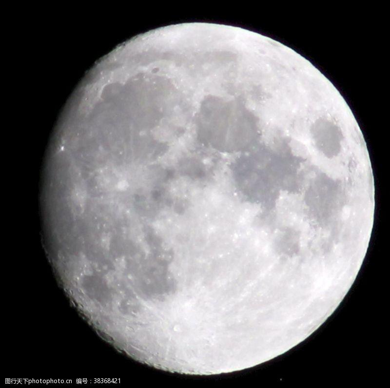 拍摄月亮月球