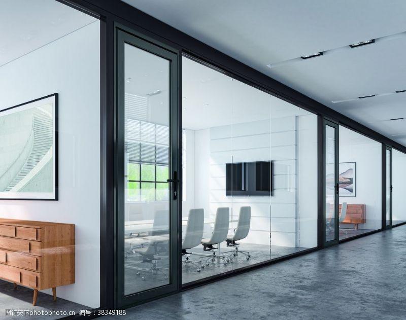 3d作品玻璃墙